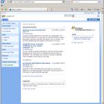 Sharepoint – dokumentportal och blogfunktion