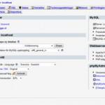 phpMyAdmin i ny version
