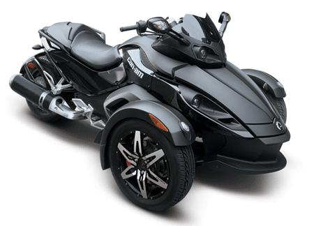 Det är coolt med trehjuling