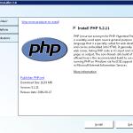 PHP och IIS på 5 minuter