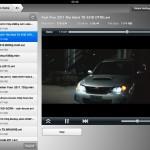 Spela film trådlöst på iPad