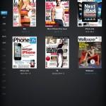 Läsa tidningen i iPad