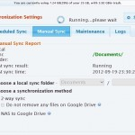 Synka din NAS med Google Drive