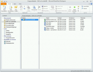 sharepoint-workspace-client