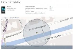 Hitta din borttappade mobil