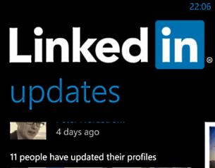 Kontaktnät med LinkedIn