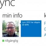 Lync 2013 för Windows Phone 8