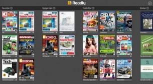 Readly – tidningar och böcker på ett ställe
