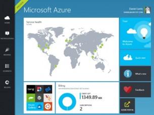 Microsoft Azure som webbhotel