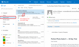 Office 365 får ny filtreringsfunktion