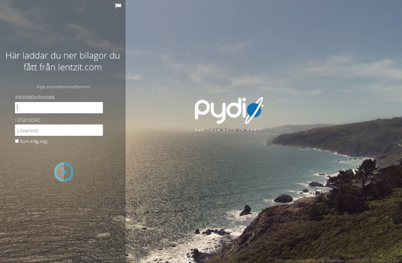 pydio-login