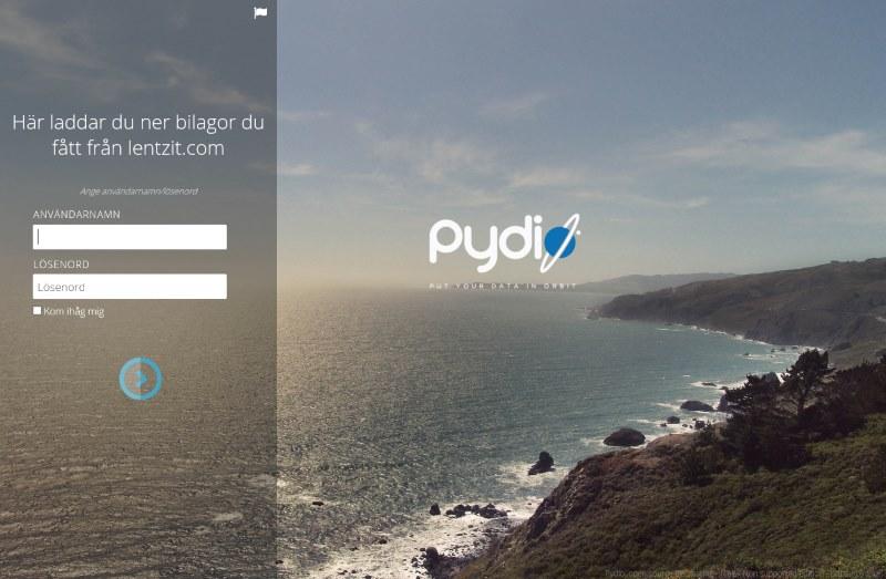 pydio-login