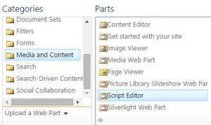 sharepoint-script-editor