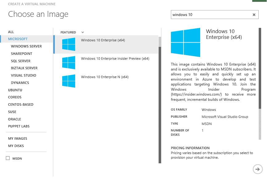 azure-client-templates