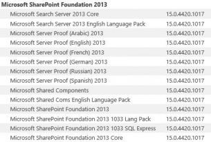 SharePoint – visa versioner med PowerShell