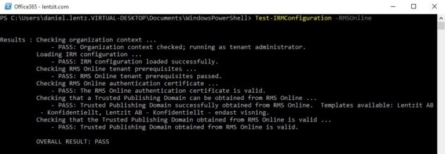 enable-irm-powershell-test-pass