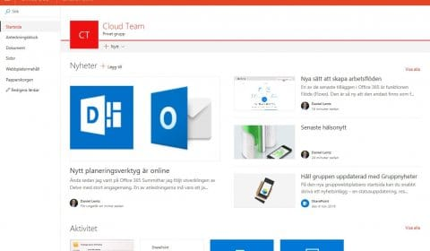 Teams – SharePoint´s nya front