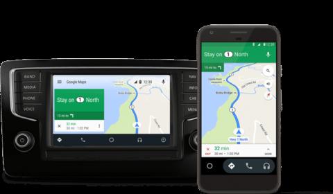 Android Auto – de viktigaste apparna på bilens skärm