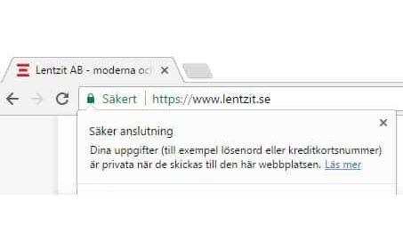 Använd SSL-certifikat i WordPress